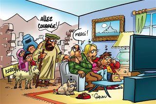 Cartoon OF pessimisme